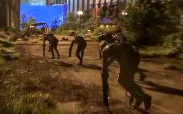 《猩球崛起2》拍摄直击 动作捕捉展现猩猩袭城