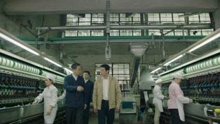 方邦彦正式走马上任,整日游走于永江纺织厂的车间