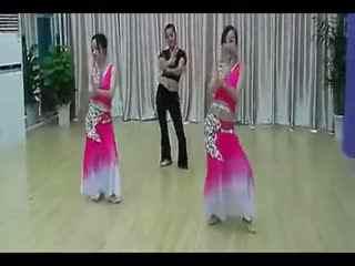 月亮舞蹈视频傣族 民族舞女子舞蹈傣族舞《月亮》
