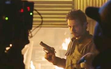 《家园防线》幕后拍摄直击 冷血弗兰科射杀凯特