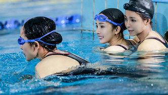 第6期杨幂泳装和孙杨学游泳