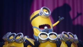 小黄人参加歌唱赛?
