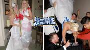 奇葩青年婚礼中强行抢亲
