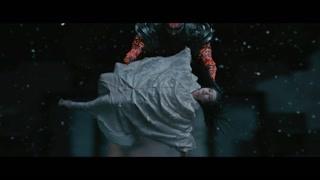 张道仙死后钟馗接住了下坠的雪妖
