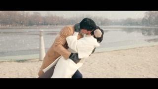 白百何吴彦祖上演雪地浪漫一吻