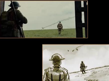《1917》名场面来袭  导演动态分镜下足功夫