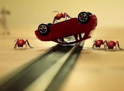 《昆虫总动员》病毒短片6之火车大劫案