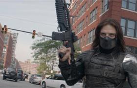 【美国队长2】看点 街头追车大战