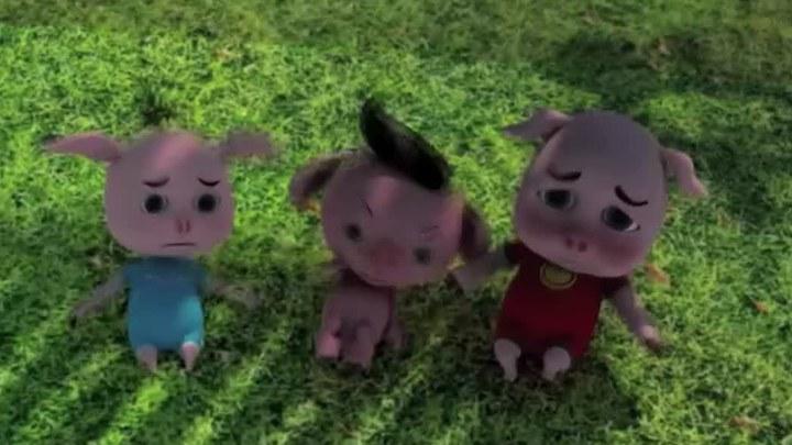 白雪公主和三只小猪 预告片1 (中文字幕)