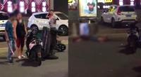 【广东】东莞一女子出车祸 其丈夫竟到场持刀行凶
