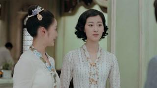 《小娘惹》丽贝儿来厨房找月娘 月娘迫不及待询问丽贝儿和陈锡的情况