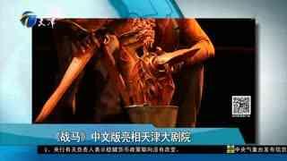 《战马》中文版亮相天津大剧院