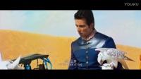 骑着白马的印度王子,帅气训鹰