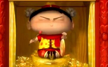 《疯了!桂宝》动画大电影病毒视频 恭喜发财