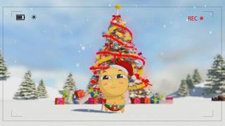 滑小稽祝你圣诞快乐!