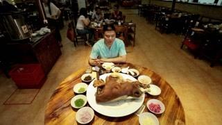 佤族卤牛头 一道菜的多种吃法!