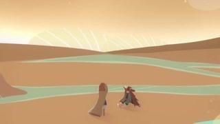 带你进入荒漠之旅 大风吹之悠悠的转