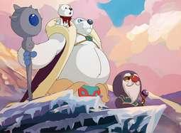 《摩尔庄园冰世纪》宣传片 绚烂动画引儿童环保观