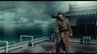 银时和人斩似藏在船上正式开战