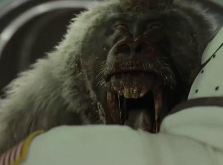 """《星际探索》""""命悬一线""""版特辑 神秘狒狒突袭太空舱令人细思极恐"""