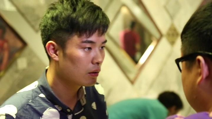 一路向前 花絮1:拍摄花絮之男男吻戏 (中文字幕)