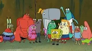 章鱼哥对大家感到很失望  海绵宝宝于心不忍号召大家团结排练