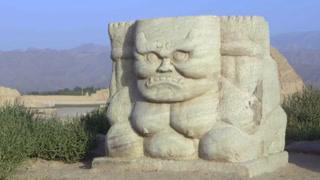巨型凶悍力士惊现草原 王陵竟变盗墓贼乐园