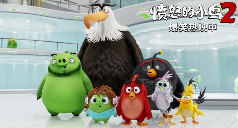 """《愤怒的小鸟2》""""猪猪实验室""""片段"""