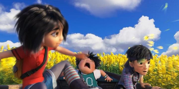 《雪人奇缘》发布油菜花海片段