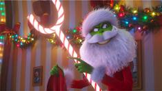 """绿毛怪格林奇""""偷圣诞""""片段"""