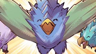 这三只幼鸟竟带有如此强烈的符文气息