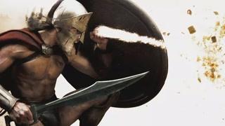 斯巴达国王走向光荣战役