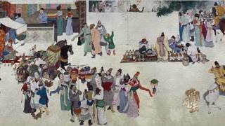 大唐时期极其繁荣 和其他国家的贸易往来也十分密切