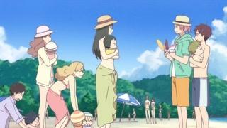 社团一起去海边玩 这几个妈妈也太年轻了吧