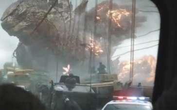 《哥斯拉》视效特辑 镜头背后的超级大怪兽