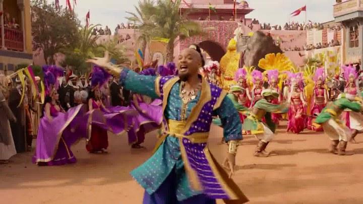 阿拉丁 MV5:威尔·史密斯演唱《Prince Ali》