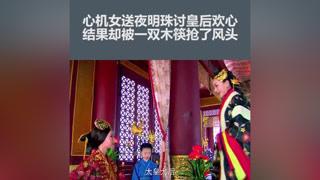 心机女送夜明珠讨皇后欢心,不料却被农妇一双木筷给抢了风头#齐妃 #杨蓉 #陈晓