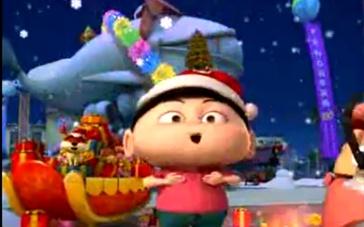 《疯了!桂宝》动画大电影病毒视频 圣诞节祝福