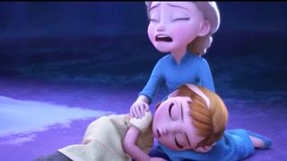 小爱莎无意间伤到小安娜