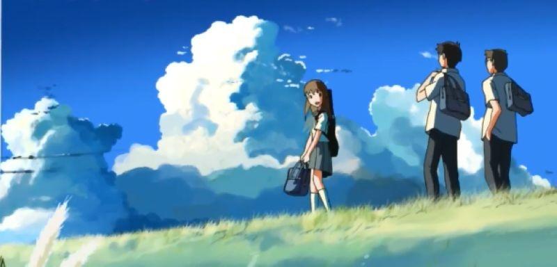 《云的彼端,约定的地方》韩国版预告片
