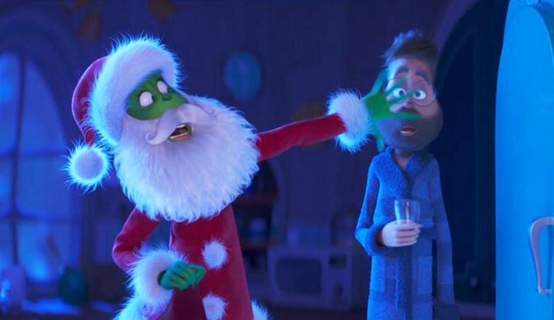 """《绿毛怪格林奇》""""偷圣诞""""片段"""