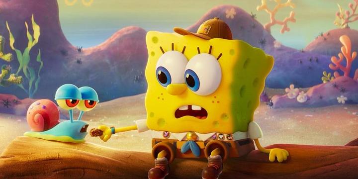 《海绵宝宝:营救大冒险》发布超级碗预告片