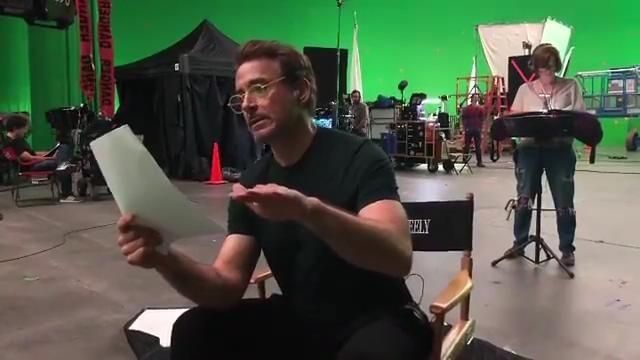 《复仇者联盟4》幕后排练视频 钢铁侠未用台词曝光
