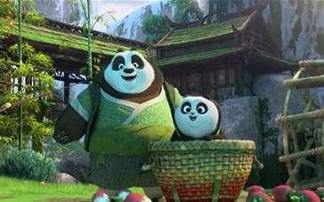 《功夫熊猫3》台版片段 初次来到熊猫村篇