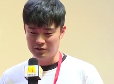 《决胜时刻》京城观影礼 陈赫被剧情打动落泪