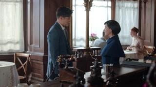 《小娘惹》陈锡在咖啡厅偶遇丽贝儿 丽贝儿想和陈锡一起回新加坡