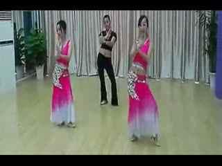 民族舞教学示范《月亮》