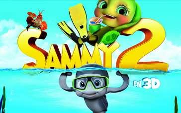 《萨米大冒险2》中文预告片 全新水世界冒险之旅