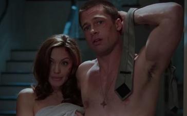 《史密斯夫妇》片段 皮特与朱莉夫妻同心其利断金