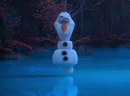 《冰雪奇缘2》最新番外 跳芭蕾的雪宝长这样 可爱到爆
